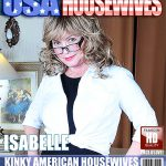 Mature.nl presents Isabelle O. (51) in Kinky American housewives giving us all a taste of the American dream – 03.11.2016