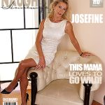 Mature.nl presents Josefine N. (55) in Hot housewife fingering herself – 25.11.2016
