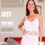 Mature.nl presents Josie (EU) (51) – British hairy housewife fingering herself – 15.11.2016