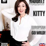 Mature.nl presents Kitty (EU) (44) in British housewife playing with herself – 19.11.2016