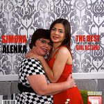 Mature.nl presents Simona K. (56), Alenka (24) in Hot Babe Having Sex with a Dirty Old Lesbian – 16.11.2016