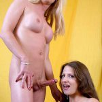 ShemaleStrokers presents Joanna Jet & Lena Ramon in Real Girl Gives Trans Girl The Greatest Blowjob in The World! – 21.11.2016