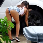 Mofos – PervsOnPatrol presents Zaya Cassidy in Teen Spinners Wet T-Shirt Car Wash – 04.11.2016