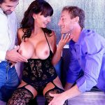CatalinaCruz presents Ryan McLane, Catalina Cruz, Donnie Rock in Catalina Cruz 4k threesome with 2 cocks for first time