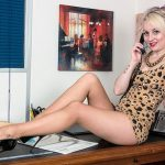 Pantyhosed4U presents Kiana Kraze – Office Equipment! – 16.11.2016