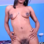 Shemalestrokers presents Lovely in Ebony Trans Girl Is A So Sweet With An 8 Inch Treat For You To Eat! – 14.11.2016