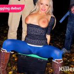 Killergram – OnADoggingMission presents Tara Spades in Sexy Blonde Dogging Debut – 11.11.2016