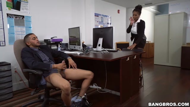 Watch Online Porn – BangBros – BrownBunnies presents Ivy Young learns how to get ahead in the office – 04.11.2016 (MP4, SD, 852×480)