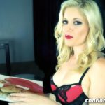 Charlotte Stokely in Girl Talk In Chastity
