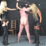 Femmefatalefilms presents Mistress Athena, Mistress Eleise de Lacy – Athenas Whipping Boy
