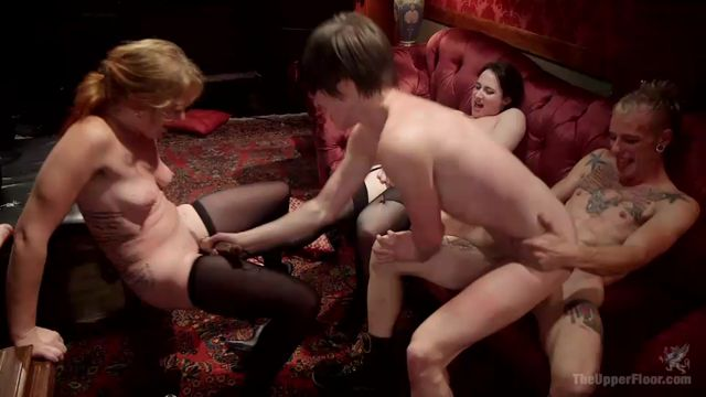 Watch Online Porn – Kink – TheUpperFloor presents Syren de Mer, John Strong, Eliza Jane , Aiden Starr, Lauren Phillips in The Fantastic Fucking Folsom Orgy Pt. 2 – 04.11.2016 (MP4, SD, 960×540)