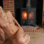 MikaelaWitt presents Princess Mikaela Witt in Fireplace Treat