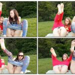 ManyVyds – CamWhores presents MissMaya and SexxyLorry in Squirt in Forest