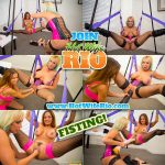 HotWifeRio presents Naughty Alysha in Milfs and Monster Dildos & Double Fisting