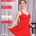 Mature.nl presents Alana R. (40) in Naughty housewife fingering herself – 22.12.2016