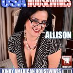Mature.nl presents Allison (37) in Big breasted American housewife playing with herself – 14.12.2016