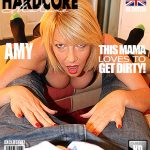 Mature.nl presents Amy (EU) (52) – British hot housewife fucking and sucking – 04.12.2016