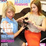 Mature.nl presents Amy (EU) (53), Olga Cabaeva (35) in British lesbian housewives fooling around – 23.12.2016