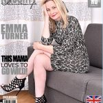 Mature.nl presents Emma Turner (EU) (42) in British housewife fingering herself – 27.12.2016