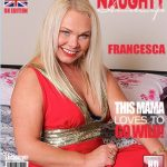 Mature.nl presents Francesca Kitten (EU) (44) in British housewife fooling around – 17.12.2016