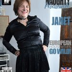 Mature.nl presents Janet Wilson (EU) (61) in British Mature Lady Playing with Herself – 08.12.2016