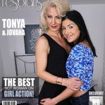 Mature.nl presents Jovana E. (21), Tonya (42) in Steamy MILF has sex with a hot young babe – 22.12.2016