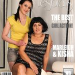 Mature.nl presents Kisha (54), Marleigh (19) in Horny old and young lesbian couple fooling around – 02.12.2016