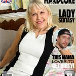Mature.nl presents Lady Sextasy (EU) (64) in British mature lady fucking and sucking – 15.12.2016