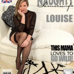 Mature.nl presents Louise (EU) (50) in British housewife fingering herself – 23.12.2016