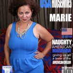 Mature.nl presents Marie S. (43) in American BBW Fingering Herself – 01.12.2016