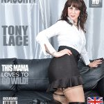 Mature.nl presents Toni Lace (EU) (49) in British housewife goes wild – 12.12.2016