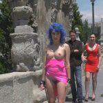 Kink – PublicDisgrace presents Cute and Colorful Susy Blue is Begging to be Disgraced in Public – 26.12.2016