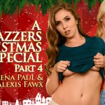 Brazzers – ZZSeries presents Charles Dera, Alexis Fawx & Lena Paul in A Brazzers Christmas Special: Part 4 – 25.12.2016