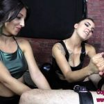Clips4sale – Brat Princess 2 presents Alexa Rydell and Sasha Foxxx in Bound slave takes Hard Ball Punching to Earn Orgasm from Dream Duo