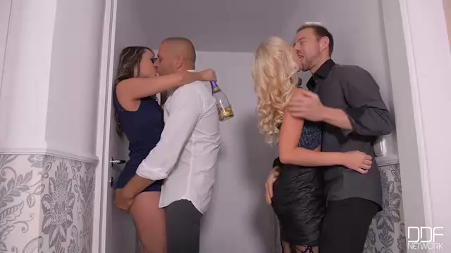 Watch Online Porn – DDFNetwork – HandsOnHardcore presents Blue Angel & Kiara Lord & Tina Kay in New Years Eve Group Fuck: 5 Gangbang Lovers Love To Party! – 01.01.2017 (MP4, SD, 640×360)