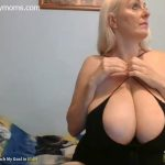 German sexy mom with super large tits