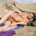 PorndoePremium – LaNovice presents Alice Axx in Alternative French newbie gets ass fucked and cum covered at the beach – 09.12.2016