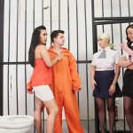 PureCFNM presents Christina Shine, Hannah Shaw, Princess Paris, Rebecca Brooke in Conjugal Visit – 02.12.2016