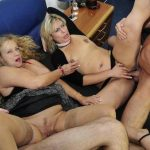 PornDoePremium – ReifeSwinger presents Elif O. & Beate G. in Wild German foursome with naughty mature blonde swingers – 01.12.2016