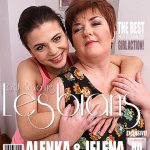 Mature.nl presents Alenka (25), Jelena M. (49) in chubby mature housewife has sex with a hot young babe – 14.01.2017