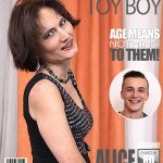 Mature.nl presents Alice S. (51) in Naughty housewife doing her toyboy