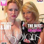 Mature.nl presents Amber West (EU) (27), Amy (EU) (53) in British young and old lady fooling around – 17.01.2017