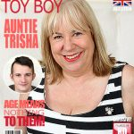 Mature.nl presents Auntie Trisha (EU) (61) in British mature BBW doing her toyboy – 11.01.2017