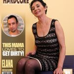 Mature.nl presents Elana S. (52) in kinky mature lady fucking and sucking – 13.01.2017