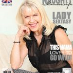 Mature.nl presents Lady Sextasy (EU) (64) in British mature lady playing with herself – 05.01.2017