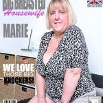 Mature.nl presents Marie (EU) (48) in British big breasted BBW fingering herself – 10.01.2017