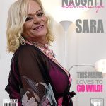 Mature.nl presents Sara V. (60) in Kinky mature lady fooling around