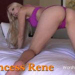Princess Rene in Mind Blowing Ass Worship