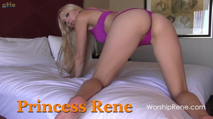 Princess rene ass worship