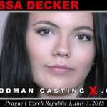WoodmanCastingX presents Vanessa Decker – 28.01.2017